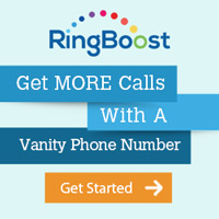 Visit RingBoost.com For A Vanity Phone Number!