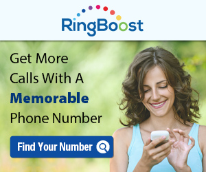 RingBoost.com - Get a Memorable Phone Number Today!