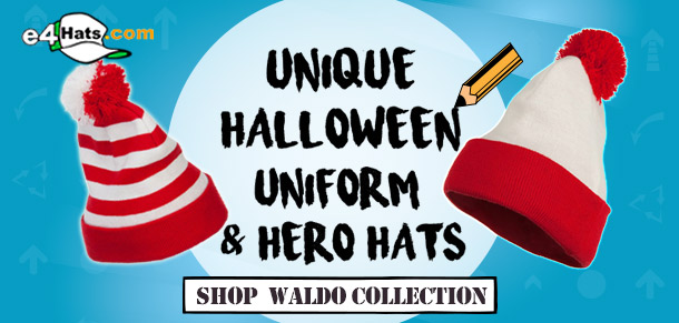 Unique Halloween Uniform & Hero Hats