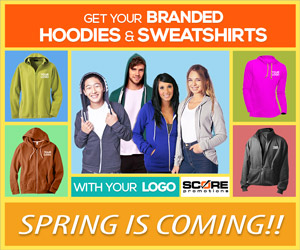 Score Promotions - Promotional Products - Hoodies & Sweatshirts