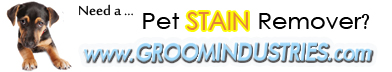 Pet Stain and Odor Removers Available at Groom Industries