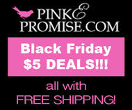 Black Friday $5 Deals at pinkEpromise.com