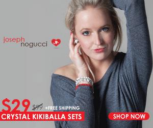 Joseph Nogucci Valentine's Day Bracelet Crystal Gifts