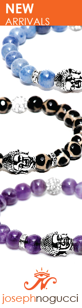 The Dharma Stone Buddha Bracelet Collection from Joseph Nogucci