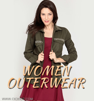 Look your best in women's outerwear from cicihot.Shop stylish womens outerwear coats,leather jackets,wool                                     coats,blazers,trench coat,blazer jackets,vest,long coat,pea coat and more outerwear with great price at cicihot clothing store.