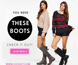 You Need These Boots from CiCiHot.com