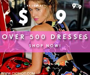 Dresses As Low As $9.99 at PinkBasis.com