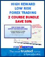 High Reward, Low Risk Forex Trading TWO COURSE BUNDLE by Vic Noble (online version)