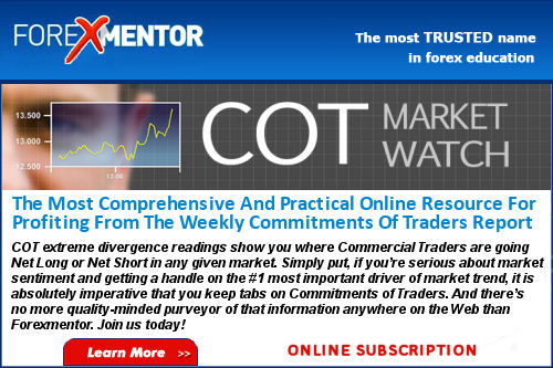 COT Market Watch by Frank Paul