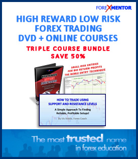High Reward, Low Risk Forex Trading TRIPLE COURSE BUNDLE by Vic Noble (DVD + online version)