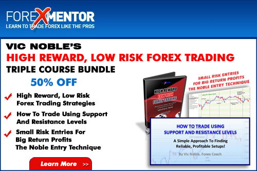 Master the Art of High Reward Low Risk Forex Trading and Save 50%
