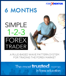 Simple 1-2-3 Forex Trader 6 Months Subscription