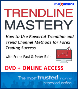 The Trendline Mastery Course by Peter Bain and Frank Paul available Online and DVD
