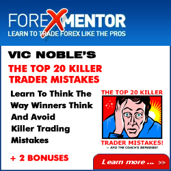The Top 20 Killer Trader Mistakes And The Coach's Remedies by Vic Noble is designed for anyone who is still struggling to get their trading results off the ground. Learn to think the way the winners think and how to avoid killer trader mistakes.