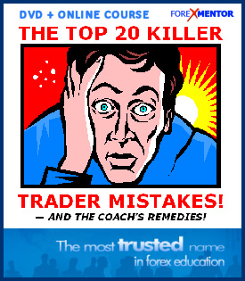 The Top 20 Killer Trader Mistakes And The Coach's Remedies by Vic Noble (DVD + online version)