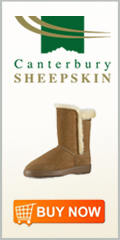 Canterbury Sheepskin Flyer Boot