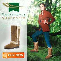 Canterbury Sheepskin Artica Boot