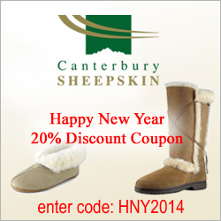 20% off all purchases until the end of April 2014
