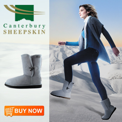 Canterbury Sheepskin Tara Boot