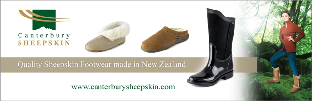 Sheepskin Wellington and Sheepskin Slippers
