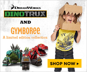 Gymboree Dinotrux Collection On Sale Now!