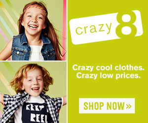 Crazy 8 sweet summer tees only $5!