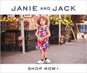 25% off your entire purchase at Janie and Jack