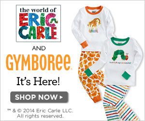 Gymboree: Limited Edition Eric Carle Apparel