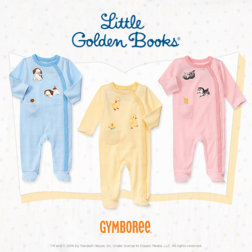 Little Golden Books Baby Clothes