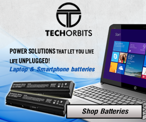Tech Orbits Laptop Battery