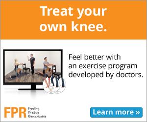 FPR Knee Pain Exercise Program-med-rectangle, knee pain relief, knee therapy, knee exercises, knee workout