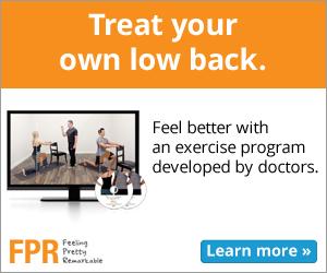 FPR Lower Back Pain Exercise Program-med-rectangle, low back pain relief, low back therapy, low back pain treatment