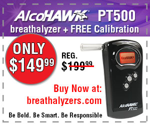 Purchase an AlcoHAWK PT500 for only $149.99!