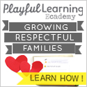 Playful Learning Ecademy has fun ecourses that instill a love of learning with bite-size ecourses for the entire family.