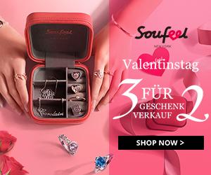 Valentinstag Verkauf - Kaufen Sie 3 Holen Sie sich 1 kostenlos bei Soufeel.de
