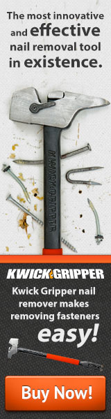 Removes nails, bolts and screws fast and easy!