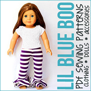 Doll Sewing Patterns at Lil Blue Boo