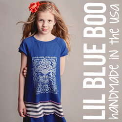 Handmade clothing by Lil Blue Boo