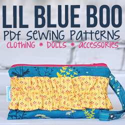 Sewing Patterns at Lil Blue Boo