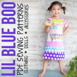 Lil Blue Boo Sewing Patterns