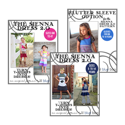 New LBB Sewing Patterns