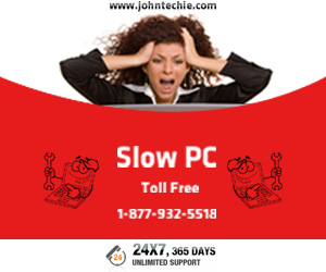 Slow PC, Call John Techie