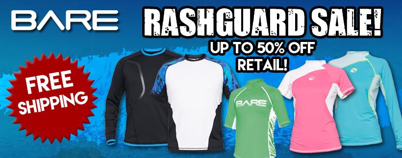 BARE Rashguard Sale