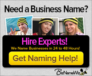 Get Business Naming Help - Biz Name Wiz