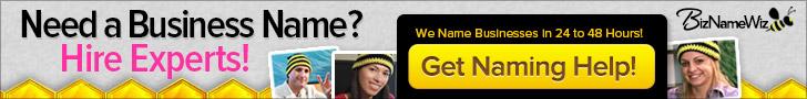 Get Business Naming Help - Biz Name Wiz