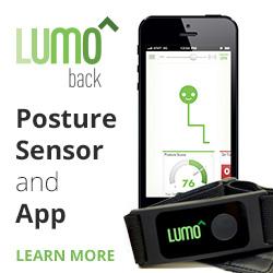 LUMOback Posture Sensor and App, Learn More