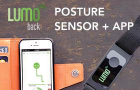 LUMOback Posture Sensor and App