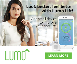 Look better, feel better with Lumo Lift! One small device to improve your posture. 1 year warranty & 30 day Return Policy. Shop Lumo BodyTech!