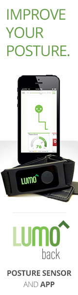 Stand Taller and Look Better with the LUMOback Posture and Activity Coach. <LINK> Learn More Here! </LINK>