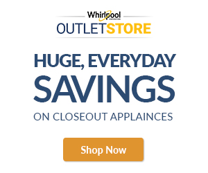 Save up to 50% off MSRP on closeout appliances